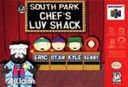 South Park - Chef's Luv Shack (USA) Box Scan
